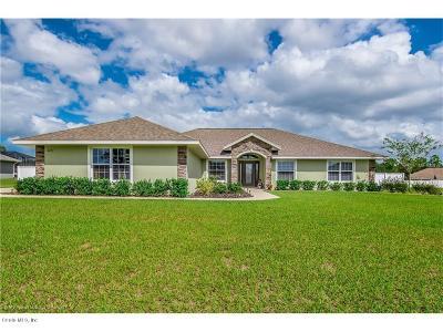 Ocala FL Single Family Home For Sale: $289,900