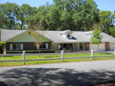 Summerfield Single Family Home For Sale: 14660 SE 55th Avenue
