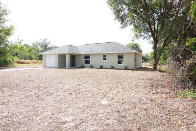Ocala Single Family Home For Sale: 12 Dogwood Trail Pass