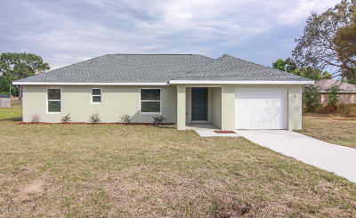 Ocala Single Family Home For Sale: 4 Water Track Trace