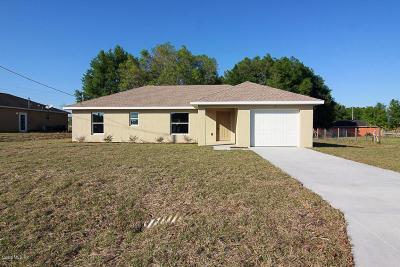 Ocala FL Single Family Home For Sale: $137,500