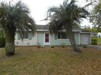 Ocala Single Family Home For Sale: 8954 SW 109th Lane