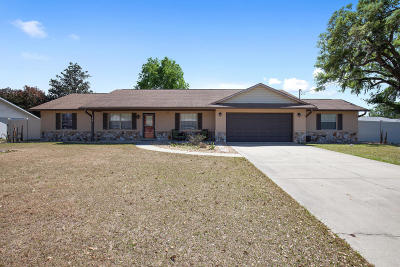 Ocala FL Single Family Home For Sale: $184,000