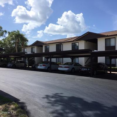 Ocala Condo/Townhouse For Sale: 546 Fairways Drive #A