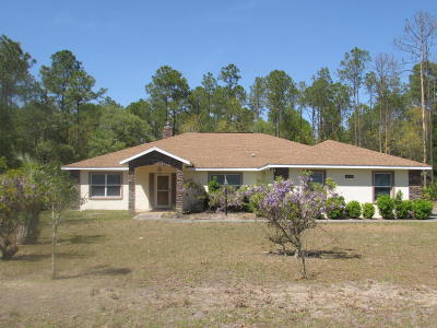 Dunnellon Single Family Home For Sale: 20601 SW 92nd Lane