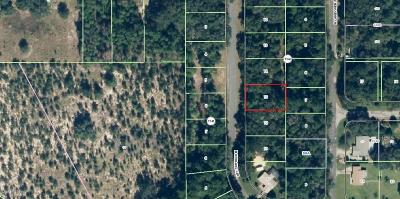 Citrus Springs FL Residential Lots & Land For Sale: $3,850