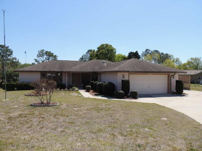 Levy County Single Family Home For Sale: 15330 NE 8th Street