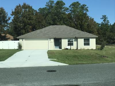 Ocala Single Family Home For Sale: 5371 SW 96th Place