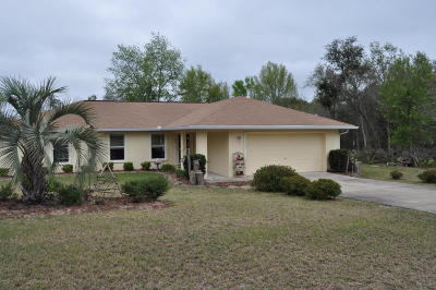 Ocala Single Family Home For Sale: 2375 SW 168th Loop