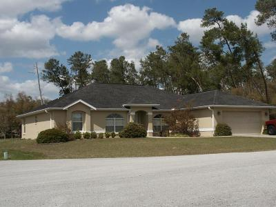 Ocala Waterway Single Family Home For Sale: 4245 SW 103rd Street
