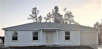Ocala Single Family Home For Sale: 29 Spring Trace