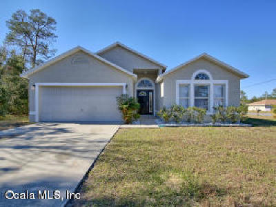 Marion Oaks North Single Family Home For Sale: 13374 SW 31st Terrace Road