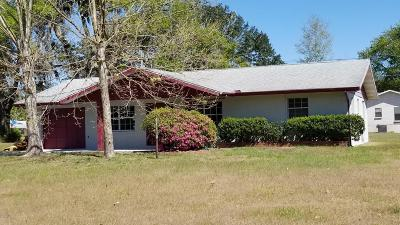 Belleview Single Family Home For Sale: 10617 SE 52nd Ct