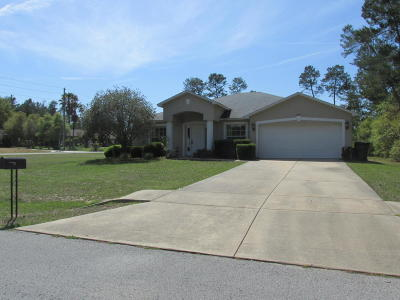 Ocala Waterway Single Family Home For Sale: 10494 SW 42nd Avenue