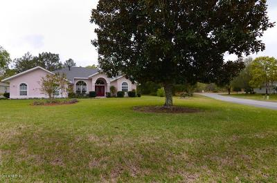 Homosassa Single Family Home For Sale: 12 Matricaria Court