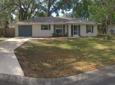 Belleview Single Family Home For Sale: 5234 SE 113th Place
