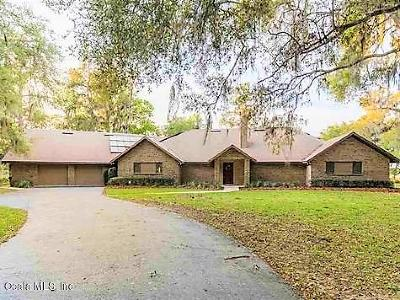 Micanopy Single Family Home For Sale: 4918 SE 185th Avenue