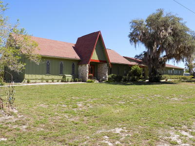 Salt Springs Single Family Home For Sale: 8505 NE Hwy 19 Highway
