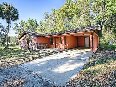 Belleview Single Family Home For Sale: 11224 SE 55th Avenue Road