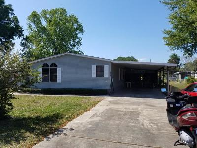 Ocala Mobile/Manufactured For Sale: 5841 SW 63rd Lane Road