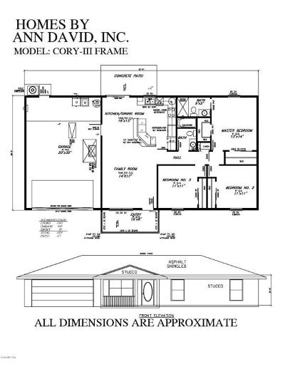Citrus County Single Family Home For Sale: 2504 W Chamberlain Street