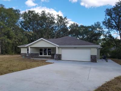Summerfield Single Family Home For Sale: SE 96th Avenue