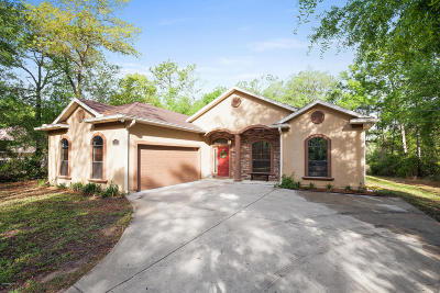 Dunnellon Single Family Home For Sale: 21775 SW 88th Ln Road