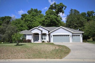 Dunnellon Single Family Home For Sale: 19497 SW 82nd Place Road
