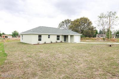 Ocala Single Family Home For Sale: 119 Juniper Trail
