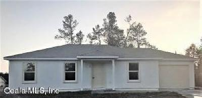 Ocala Single Family Home For Sale: 37 Bahia Court Trak