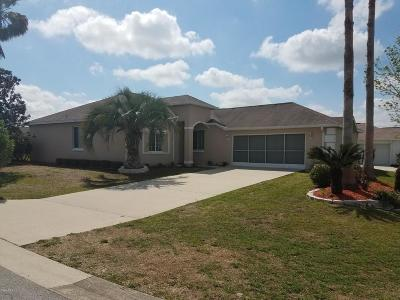 Ocala Palms Single Family Home For Sale: 5550 NW 23rd Place