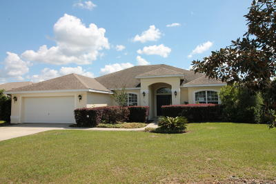 Ocala Single Family Home For Sale: 697 Lake Diamond Avenue