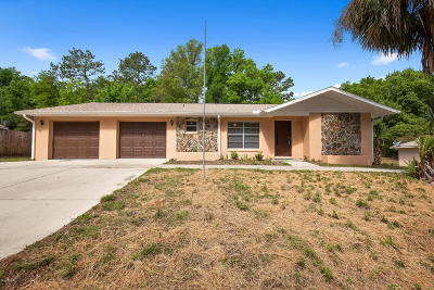 Dunnellon Single Family Home For Sale: 5000 SW 195th Avenue