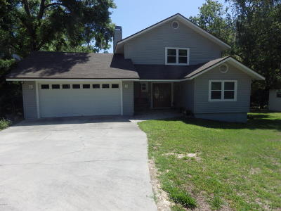 Dunnellon Single Family Home For Sale: 10805 SW 186 Circle