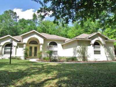 Dunnellon Single Family Home For Sale: 7716 SW 185th Circle