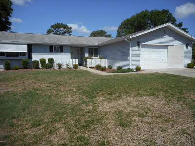 Oak Run Single Family Home For Sale: 8730 SW 108th Place