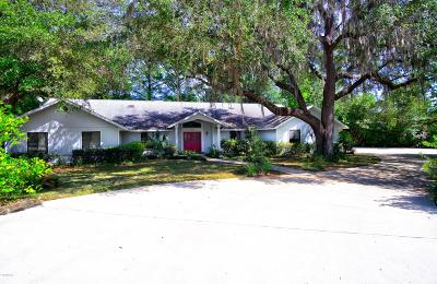 Dunnellon Single Family Home For Sale: 11875 E Blue Cove Drive