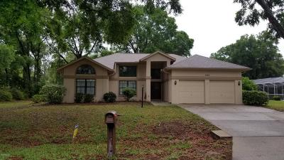 Dunnellon Single Family Home For Sale: 9776 SW 198th Circle