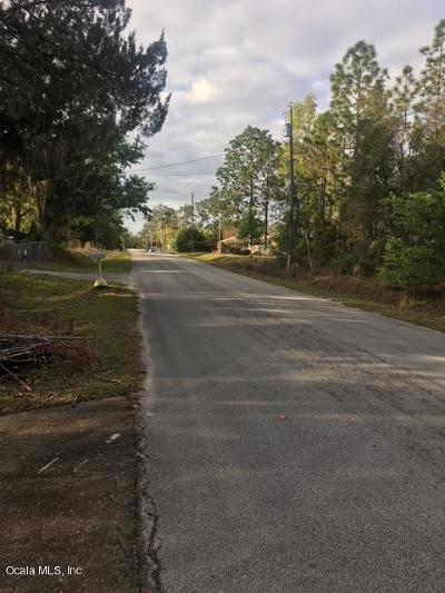 Belleview Residential Lots & Land For Sale: 12161 SE 89th Terrace