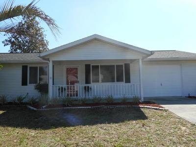 Ocala FL Single Family Home For Sale: $108,900