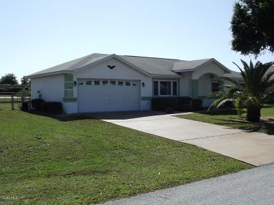Ocala Single Family Home For Sale: 9817 SW 59th Circle