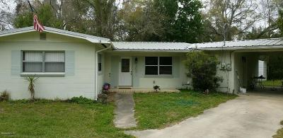 Levy County Single Family Home For Sale: 185 E Thrasher Drive