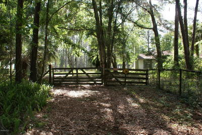 Micanopy Farm For Sale: 22840 NW 75th Avenue Road