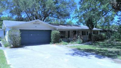 Ocala Single Family Home For Sale: 3304 SE 36 Avenue