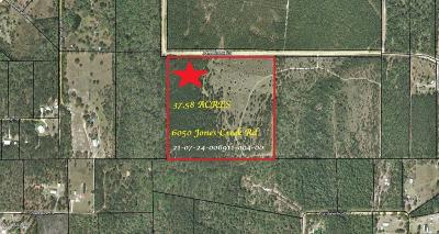 Residential Lots & Land For Sale: 6050 Jones Creek Road