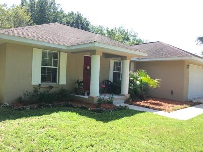 Summerfield Single Family Home For Sale: 14095 SE 34th Court