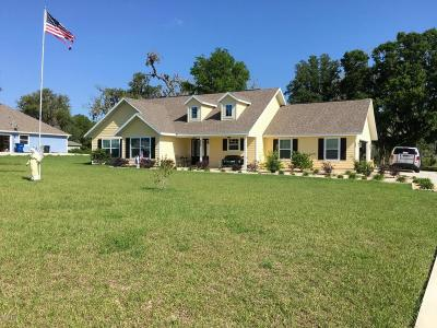 Williston FL Single Family Home For Sale: $244,500
