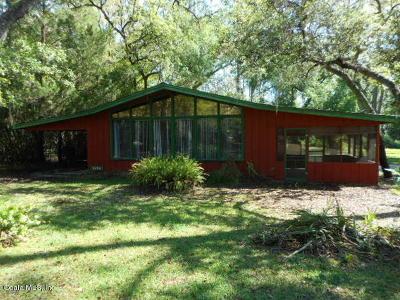 Ocklawaha Single Family Home For Sale: 1595 SE 163rd Terrace