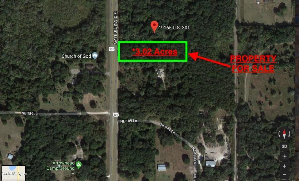 Listing: N Us Hwy 301, Citra, FL.| MLS# 534990 | Scott Kiefer ... on