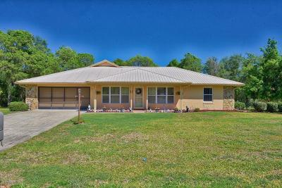 Single Family Home For Sale: 303 Marion Oaks Golf Road